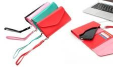 $5 for a Stylish Cell Phone Wallet Clutch in Pink, Black, Aqua or Rose ($ 30 Value)