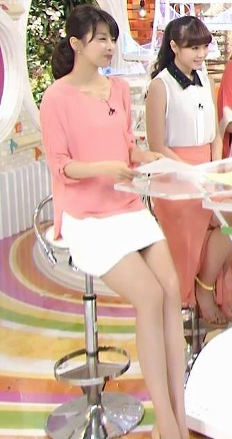 脚が綺麗な加藤綾子