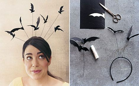 Halloween Bat Headband DIY:
