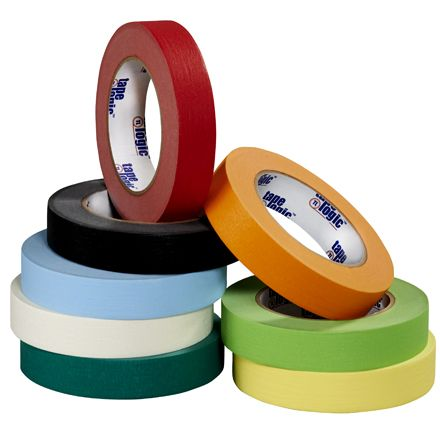 Use Colored Masking Tape to color code shipments or for inventory - office supplies inventory