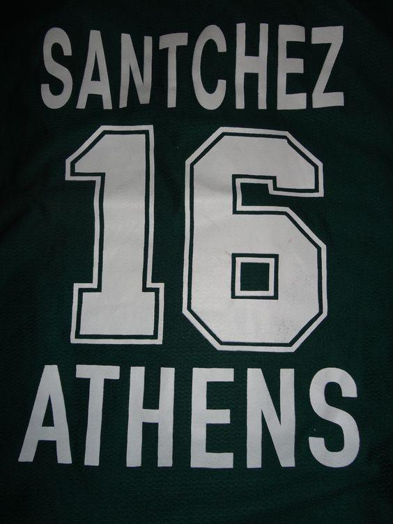 Remera del Panathinaikos de Gecia usada en la Euroliga por Pepe Sanchez, sin dudas uno de los mejores regalos de mi vida.