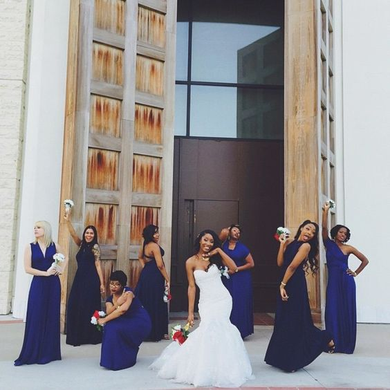 me & best friends on my wedding day