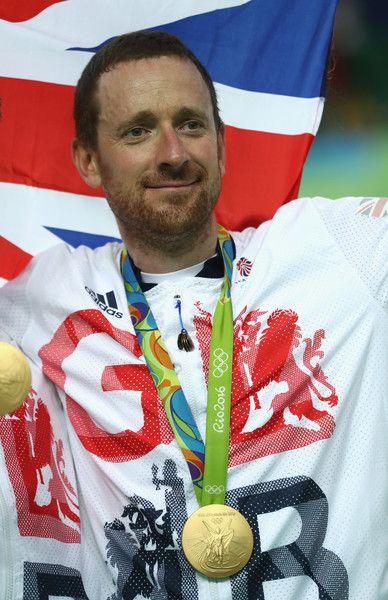 Gold medalist Bradley Wiggins Men's Team Pursuit Rio Olympic Games 2016 / Getty Images