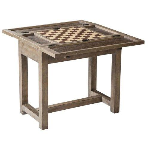 Ed Ellen Degeneres Weslin Chairside Game Table American Home