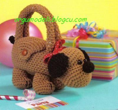 Free Crochet Animal Patterns cocuk cantalar? crochet ...
