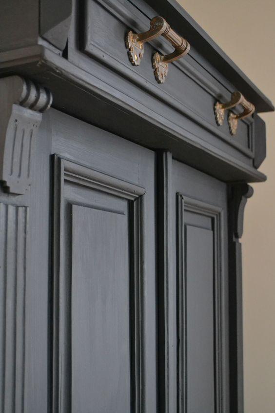 Mooie kleur voor onze antieke kast industrial pinterest gelukkig - Onze mooie ideeen ...