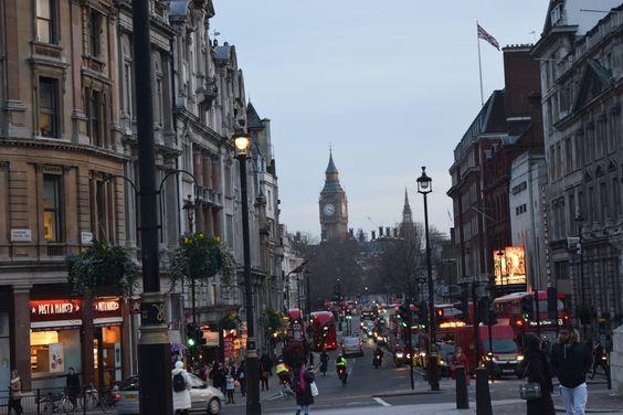 Big Ben from Trafalgar Square
