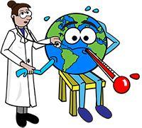 Aumento da temperatura global está associado a mais casos de doenças  Altas temperaturas estão relacionadas a doenças infecciosas, pulmonares, cardiovasculares e a óbitos provocados por ondas de calor, inclusive no Brasil. Se a emissão de poluentes não for freada, a Terra se tornará um local inóspito ao homem