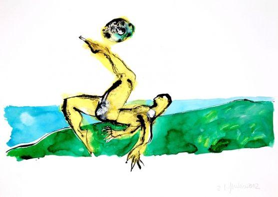 Futebol 6138 by Gal Oppido. A partir de R$690,00. www.demcorart.com.br