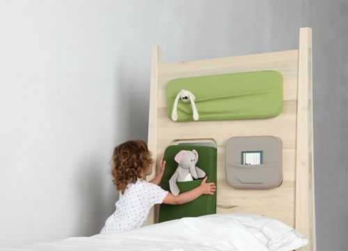 ridder & clown bedtime stories bed with canopy, pockets, window via handmadecharlotte.com