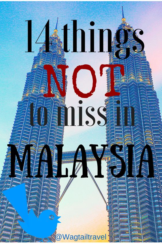 These things not to miss in Malaysia are the things I liked most about this country during my visit there. Take your time to get an overview of the most important things Malaysia has to offer.  http://www.wagtailtravel.com/things-not-miss-in-malaysia/
