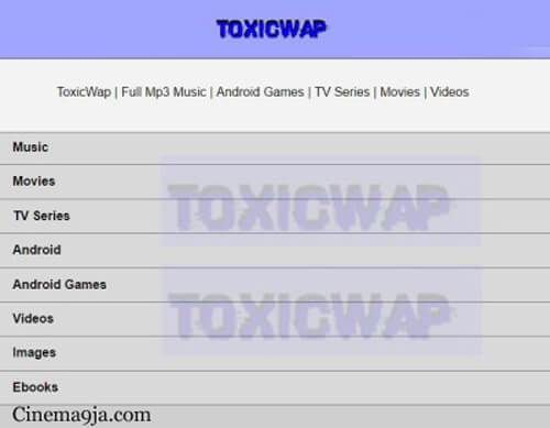 Toxicwap Movies 2018 Latest Download – Free TV Series, mp4, 3gp on