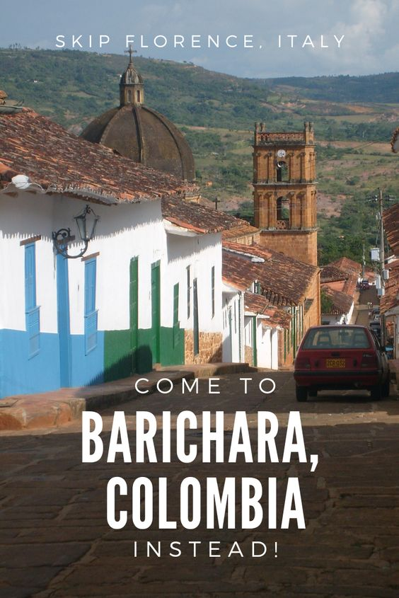 Barichara, the Florence of Colombia (Pinterest)