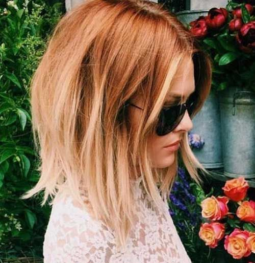 25 Latest Trend Hair Color Ideas For Short Hair Trend Bob Hairstyles 2019 Bob Color Hair Hairstyles Ide In 2020 Short Red Hair Ginger Blonde Hair Short Hair Styles
