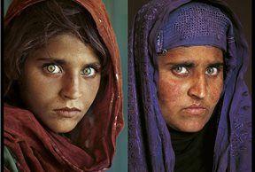 El antes y el después de Sharbat Gula