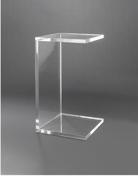 Boda designs boda designs acrylic side table boda designs - Table plexi design ...
