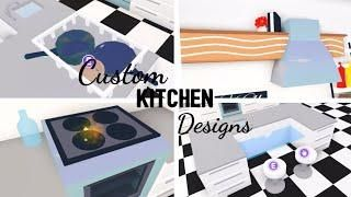 8 Custom Pet Furniture Design Ideas Building Hacks Roblox Adopt Me Part Two Its Sugarcoffee In 2020 Custom Kitchens Design Custom Pet Furniture Cute Kitchen