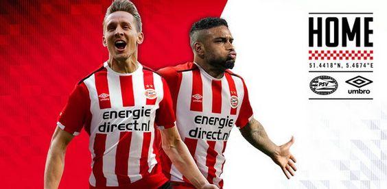 Ceci est le nouveau Maillot de foot PSV Eindhoven Domicile pour la saison 2016/2017;: