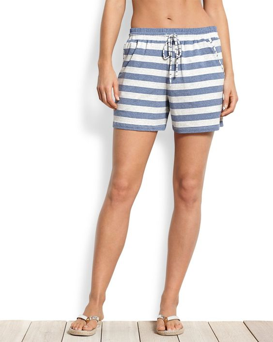 Seaside Stripe Beach Shorts