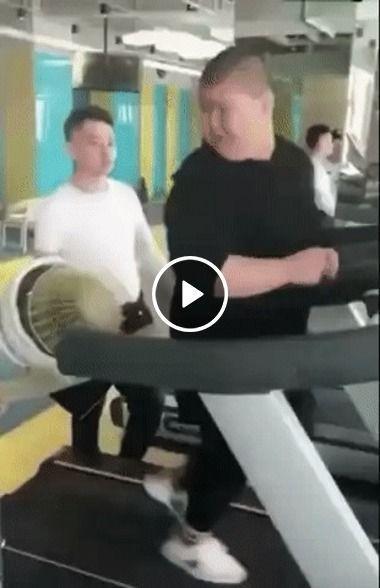 nova técnica para não sair rápido da esteira .