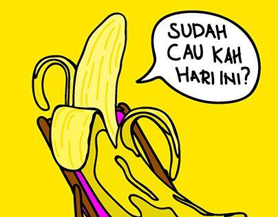 "Check out new work on my @Behance portfolio: ""Enjoy Banana"" http://be.net/gallery/32392963/Enjoy-Banana"