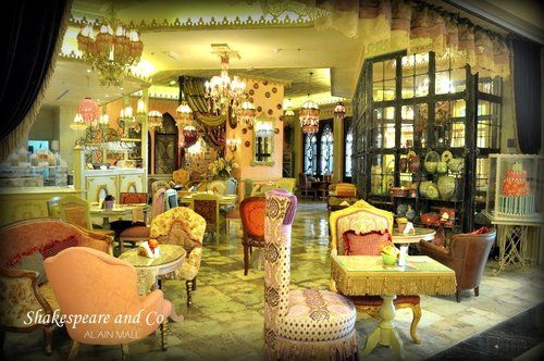 ningstory: Shakespeare and co cafe and restaurant. One of the many reasons I love United Arab Emirates.