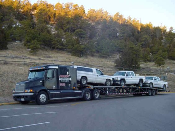3 Car Wedge Trailer Google Search Auto Transporters