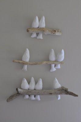 tiere vogel wanddeko v gel auf ast ideen pinterest keramik v gel muster und v gel. Black Bedroom Furniture Sets. Home Design Ideas