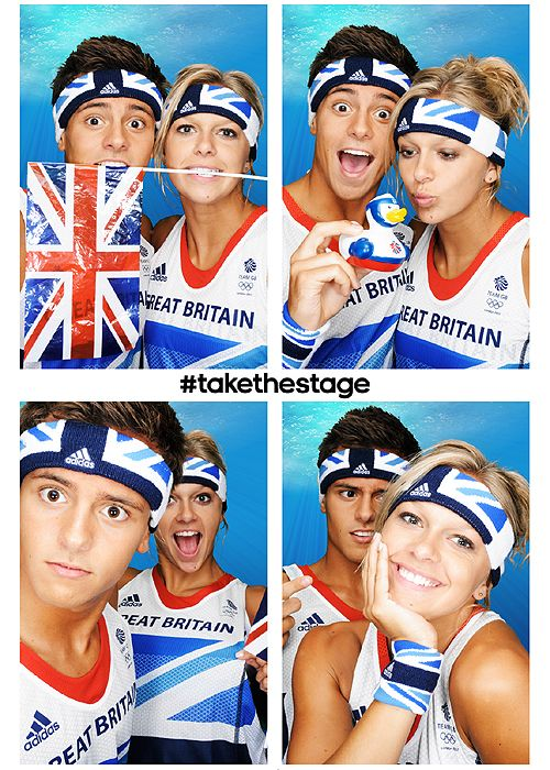 Tom Daley -  Road to London 2012 Olympics and Paralympics: Images of the week, July 2
