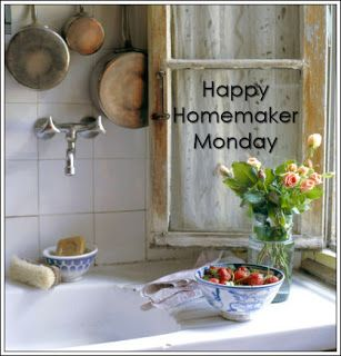 Rebecca's Hearth and Home: Happy Homemaking Monday - January 15, 2018