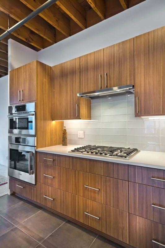 Vertical Grain Kitchen Cabinets Crystal Cabinets Small Modern Kitchens Modern Kitchen Cabinets Contemporary Kitchen Cabinets