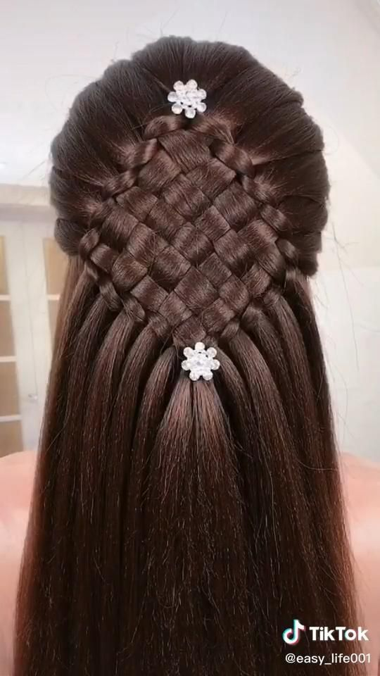 Tiktok Hairstyle Compilation Video Trendy Hairstyles 2020 What Is A New Braid Hair Styles Hair Up Styles Hair