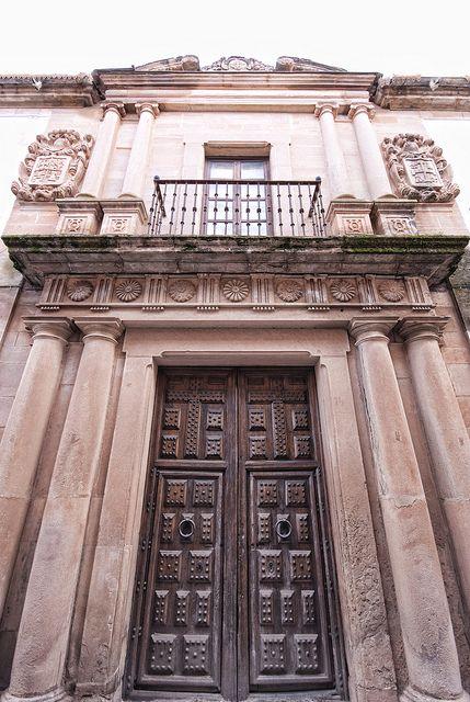 Villanueva De Los Infantes Entrance Puertas Building