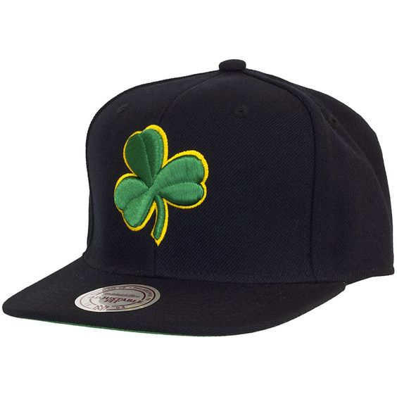 Mitchell & Ness Wool Solid Snapback Cap Boston Celtics ★★★★★
