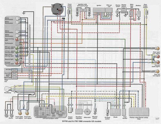 virago wiring diagram and 13ynmls with yamaha 535  yamaha