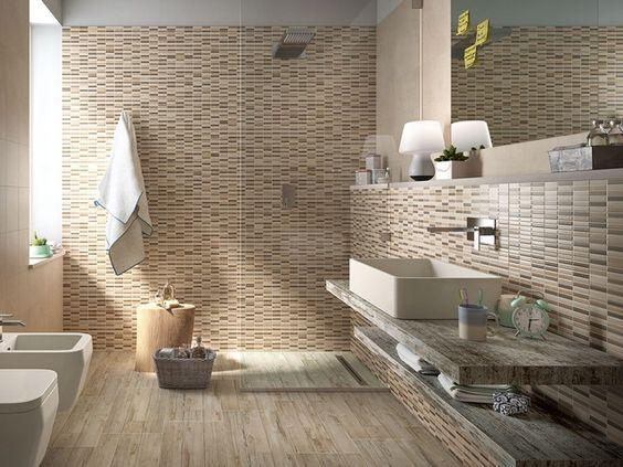 Rivestimento bagno myhome iperceramica rivestimenti bagno pinterest - Rivestimento bagno legno ...