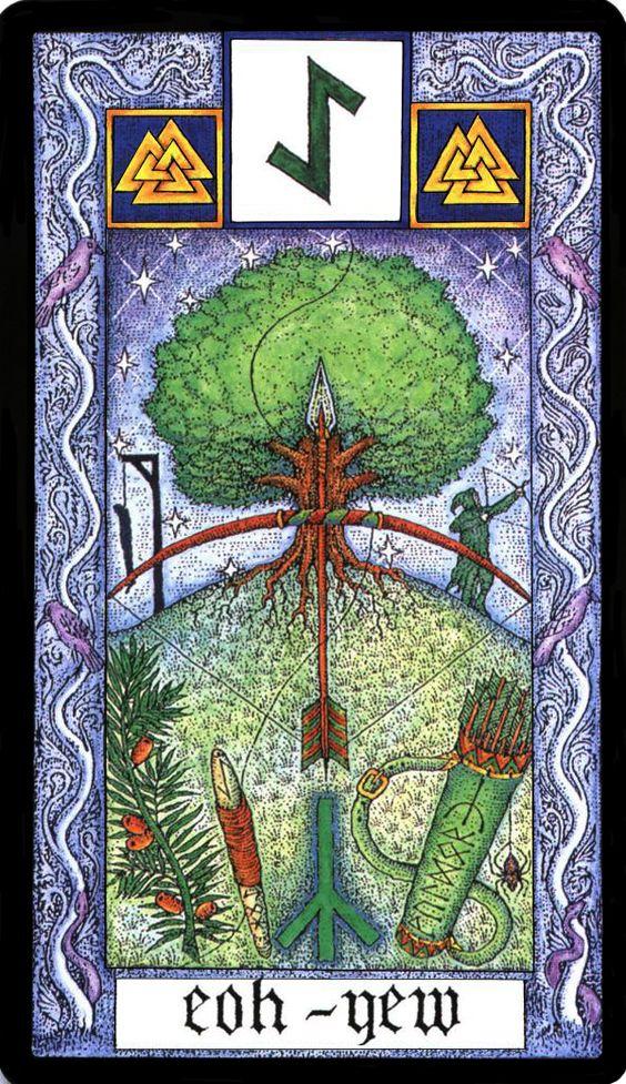 13 Eihwaz - Witches Runes by Silver RavenWolf and Nigel Jackson