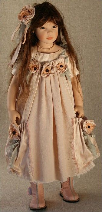 ";Most any little girl would love this doll for Christmas...she is just beautiful! My dolls were more ""baby dolls"" but I would have loved this one!:"