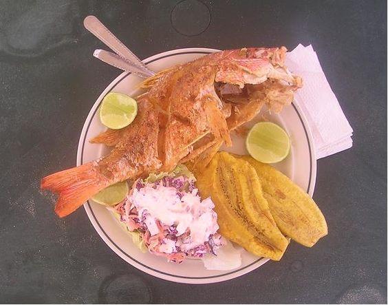 omida típica en la costa de Carabobo