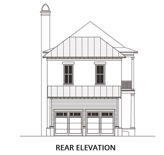 Rialto Road Coastal House Plans From Coastal Home Plans Coastal House Plans House Plans Lake House Plans