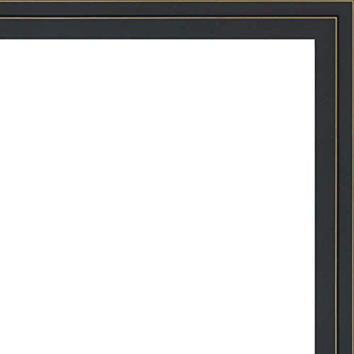 Veedaf 12x24 12 X 24 Black And Gold Pinstripe Solid Wood Frame With Uv Framer S Acryl Wood Frame Solid Wood Frame