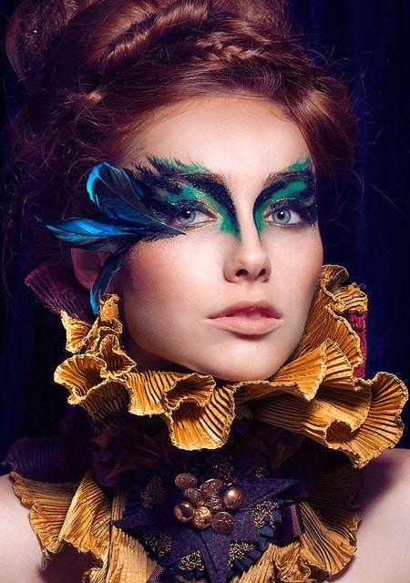 Maquillage Oiseau Paradis