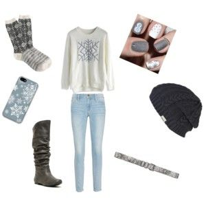 Snowflake outfit