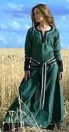 Resultado de imagen de vestidos mujeres vikingos