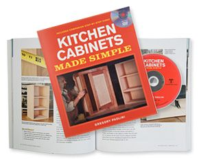 Kitchen Cabinets Made Simple Book DVD Set