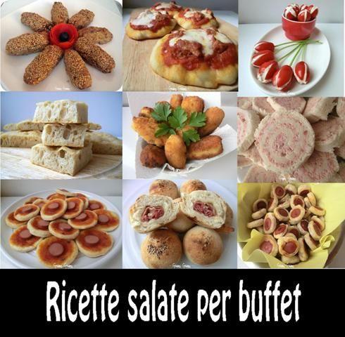 Estremamente Idee e ricette per buffet | Buffet, Ricette e Antipasti PS05