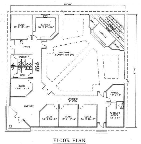 Church Building Plans Church Plan 126 Lth Steel