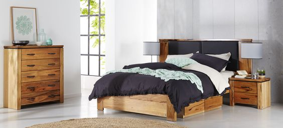 Ivy Bedroom Furniture Made From Australian Marri Timber