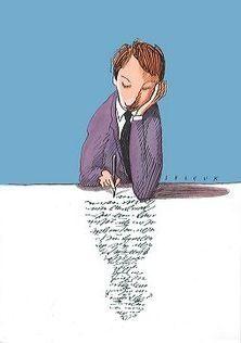 Escritor en la sombra