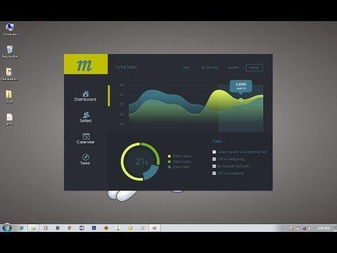 Windows desktop application ui design